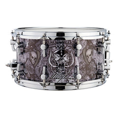 Sonor SSD 12 Signature Mikkey Dee Snare Drum - Unique Motörhead wrap design by Mark Devito