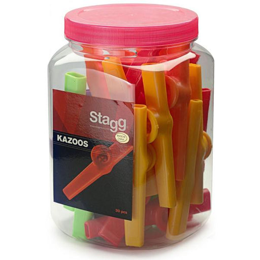 Stagg KAZOO-30 Kazoo - Assorted Colors