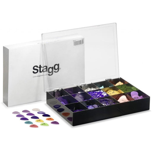 Stagg PBOX10 Center Standard  Guitar Pick - 1080 Picks