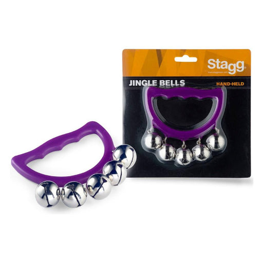 Stagg SHB5 PP Jingle Bells Set- Purple