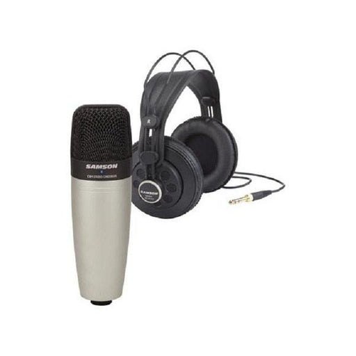 Samson C01/SR850 - Studio Mic W/SR850 Headphone