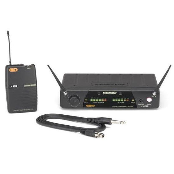 Samson Concert 77 Guitar System - UHF Wireless (Guitar/Bass)