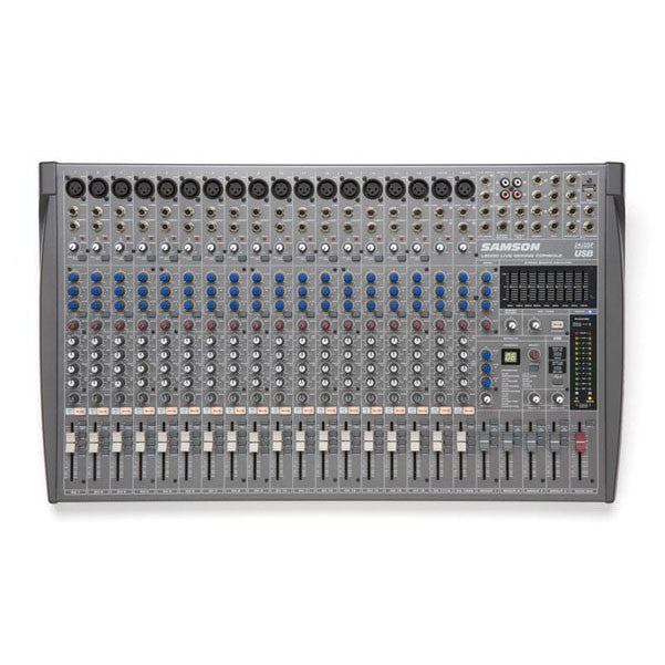 Samson L2000 20 channel 4 bus USB mixing Console