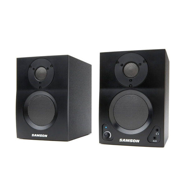 Samson MediaOne BT3 Active Studio Monitors with Bluetooth - Pair