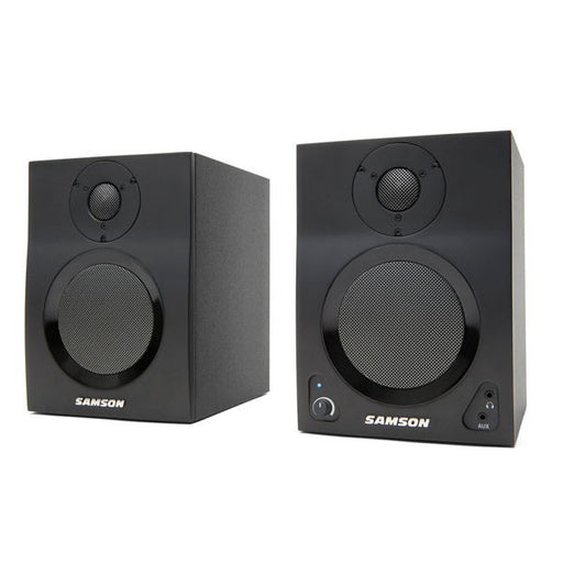 Samson MediaOne BT4 Active Studio Monitors with Bluetooth - Pair