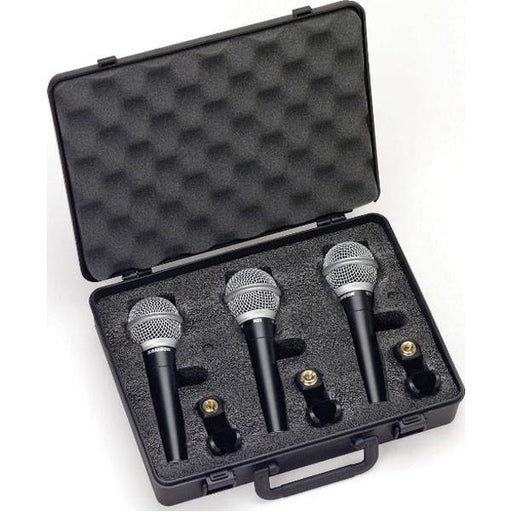 Samson R21 Cardiod Dynamic Mic 3-pack w/switch