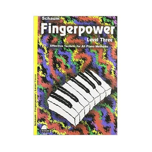 Schaum Fingerpower Level Three Book