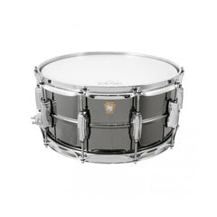 Ludwig Black Beauty Brass Shell Snare Drum LB417 6.5