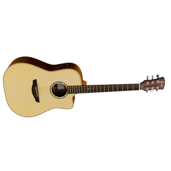 Faith FASCE Electro-Acoustic Guitar - Saturn Apollo Series, Dreadnought Gloss