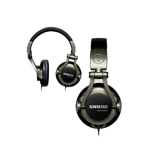 SHURE SRH550DJ-A Professional Quality DJ Headphone