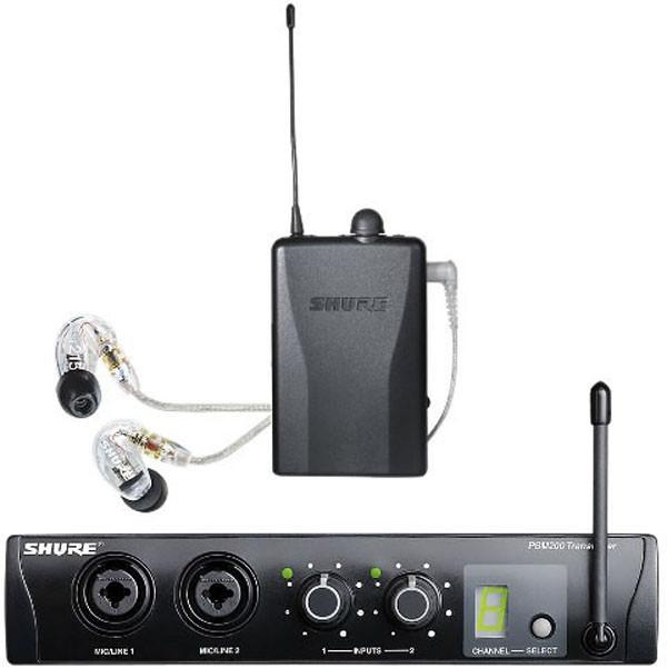 Shure PSM200 EP2TR215CL In Ear Set