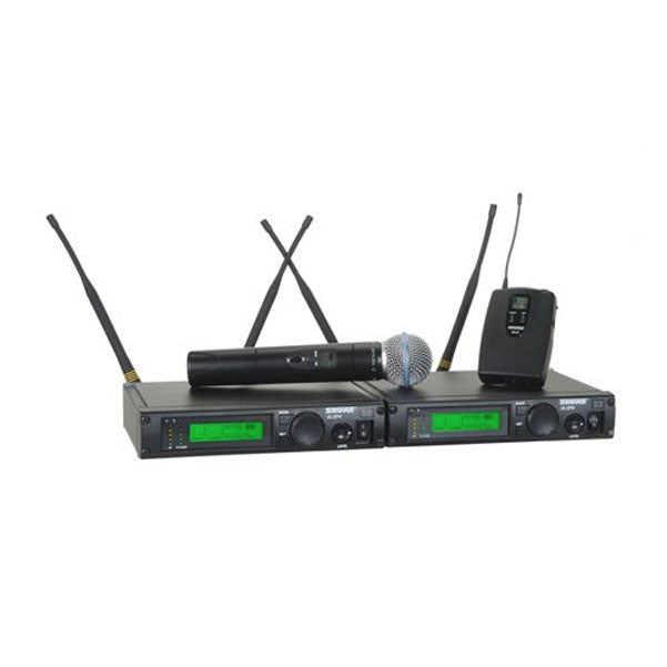 Shure ULXP124/BETA58 Dual Channel Mixed System