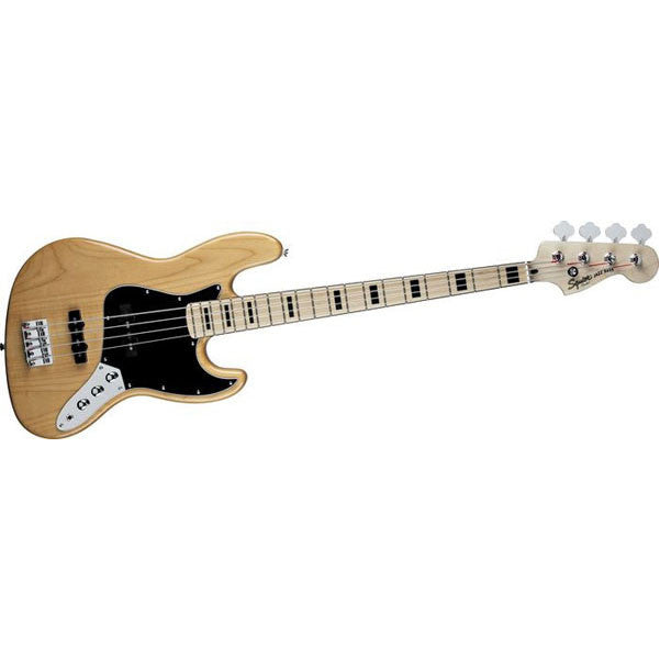Fender Squier Vintage Modified 70's Jazz Bass Guitar (Natural)