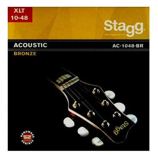 Stagg AC-1048-BR Bronze Extra-Light Acoustic Guitar String Set