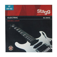 Stagg EL-0942 Electric Guitar String Set - Light Nickel