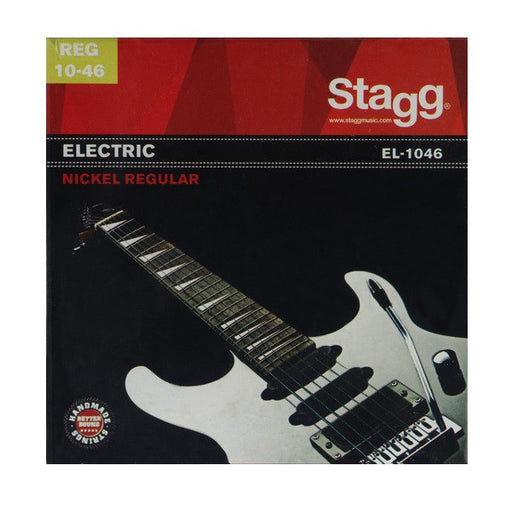 Stagg EL-1046 Electric Guitar String Set - Regular Nickel