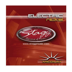 Stagg EL-1152 Electric Guitar String Set - Medium Nickel