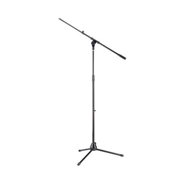 Stagg MIS-1024BK Telescopic Microphone Boom Stand (Black) - Open Box