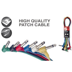 Stagg SPC015L E Patch Cables With Lifetime Warranty - 15 Centimetres