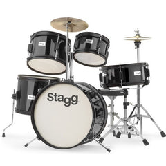 Stagg TIM JR 5/16 5-Piece Junior Drum Set with Cymbals, Throne, Sticks