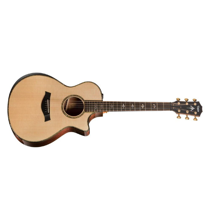 Taylor 912ce 6 Strings Grand Concert Cutaway Electro Acoustic Guitar With Bag- Natural