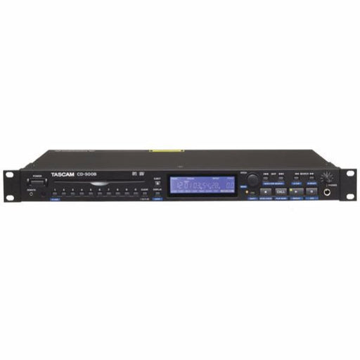 CD-500B Single Rackspace CD Player with Balanced Outs