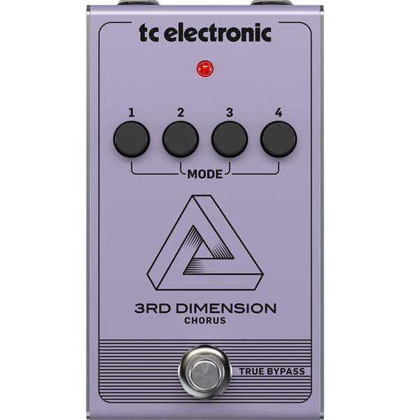 T.C. Electronic 3rd Dimension Chorus Effect Pedal