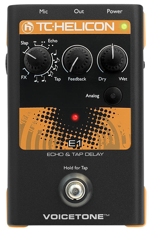 TC Helicon VoiceTone E1 Vocal Effects Processor