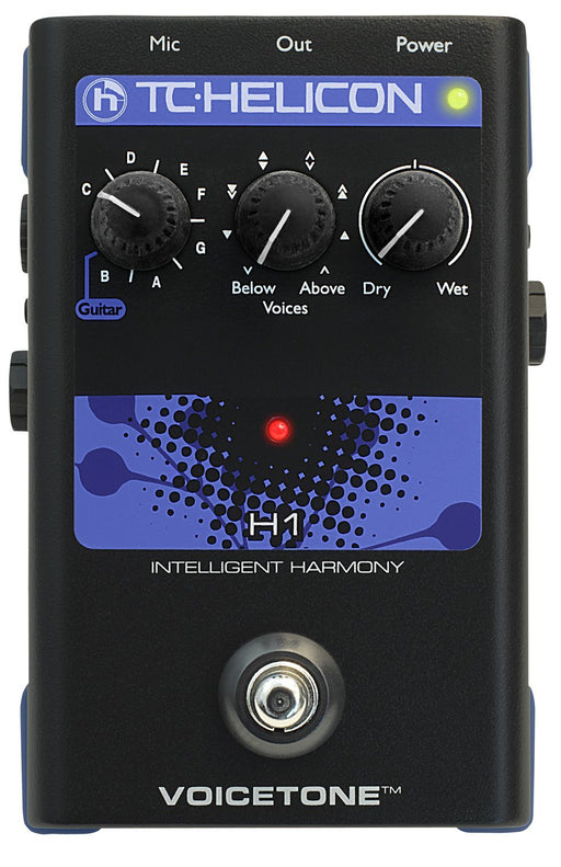 TC Helicon VoiceTone H1 Vocal Effects Processor