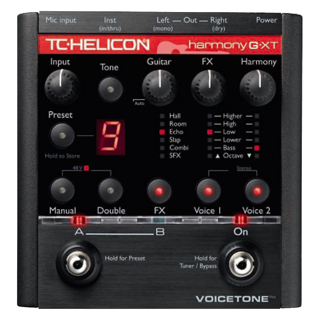 buy tc helicon voicetone harmony g xt vocal effects processor online bajaao. Black Bedroom Furniture Sets. Home Design Ideas