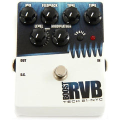 Tech 21 RVB reverb pedal with Boost-Version 2 RVB-T-V2