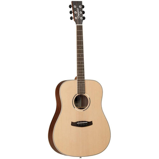 Tanglewood DBTDEB 6-Strings Discovery Exotic Dreadnaught Ebony Acoustic Guitar