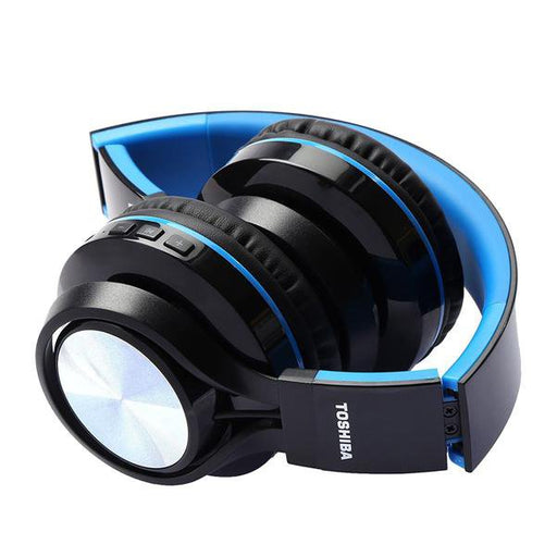 Toshiba RZE-BT200H Wireless Foldable Headphone - Blue