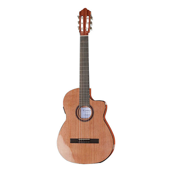 Thomann Classic Fusion 1C CW Slim Cutaway Classical Guitar - Natural High Polish