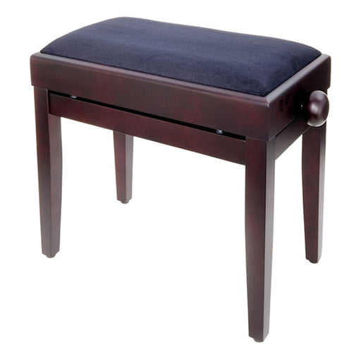 Thomann KB-55 Piano Bench - Black Velour Upholstery