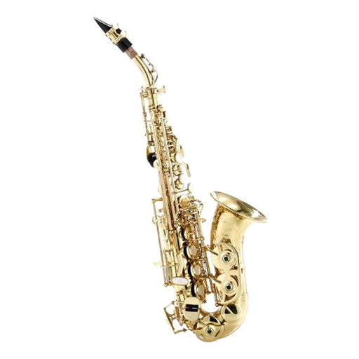 Thomann TCS-350 Curved Soprano Saxophone - Brass Lacquered