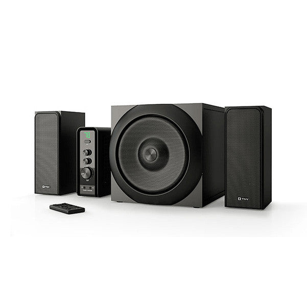 Thonet and Vander RATSEL 2.1 Wooden Multimedia Speakers System
