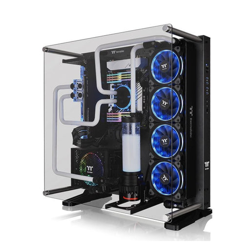 ThermalTake Core P5 Tempered Glass Ti Edition ATX Wall Mount Computer Chassis
