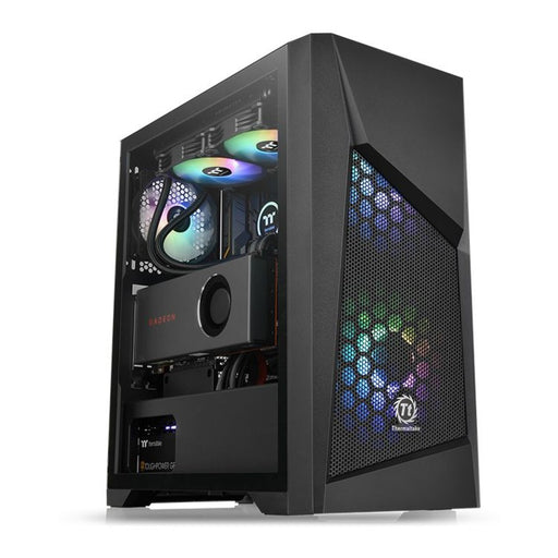 ThermalTake Commander G32 Tempered Glass ARGB Edition Mid Tower Computer Chassis