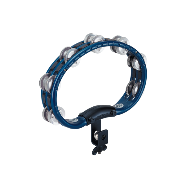 Meinl TMT2AB Set-Up Tambourine and Aluminum Jingles - Blue