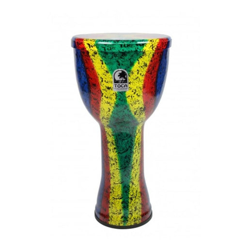 Toca SFDL-RB Freestyle Lightweight Series Djembe With Bag- Rasta