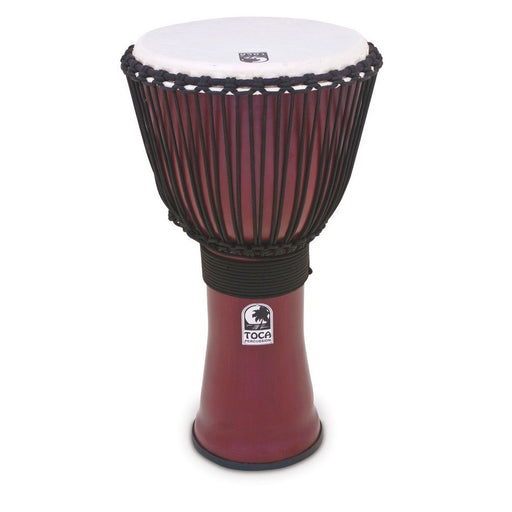 Toca TF2DJ-R Freestyle II Rope Tuned Djembe - Dark Red