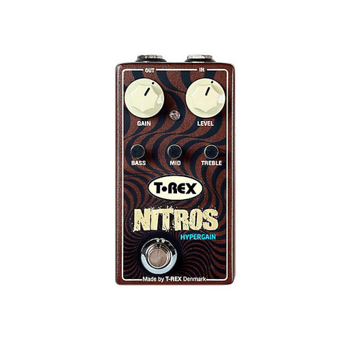 T-Rex Nitros Hypergain Distortion Guitar Effects Pedal