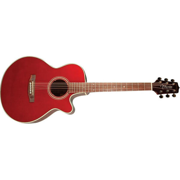Takamine EG260C Acoustic-Electric Guitar - Wine Red