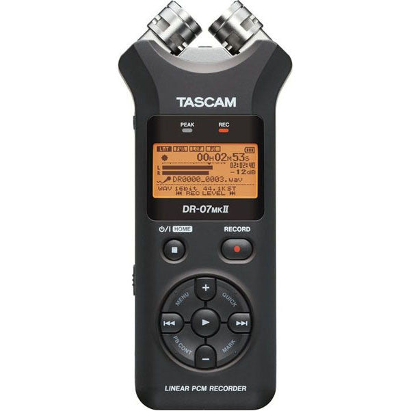 Tascam DR-07 MKII Portable Digital Recorder