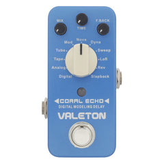 Valeton CDL-3 Coral Echo Digital Modeling Delay Pedal