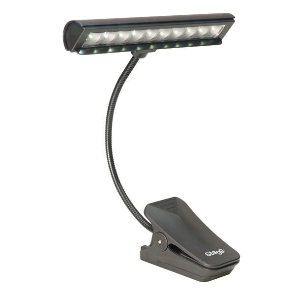 Stagg MUS-LED 10-2 Multipurpose Clip-On and Free-Standing LED Lamp