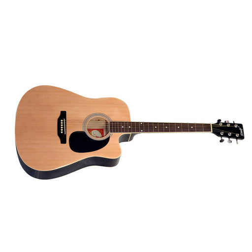 Amaze AW41C-201 Electro-Acoustic Guitar - Natural -Open Box