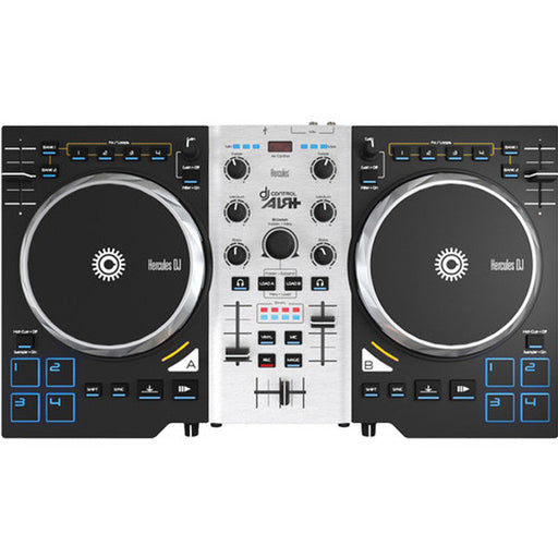 Hercules DJ Control AIR+ S Series 2-Channel USB DJ Controller with Software