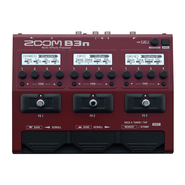 buy zoom b3n multi effects guitar processor for bass online bajaao. Black Bedroom Furniture Sets. Home Design Ideas